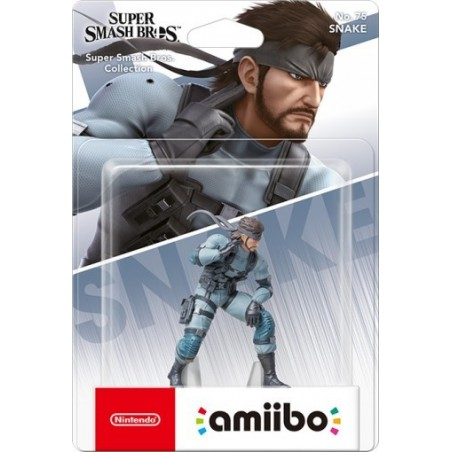 Nintendo Amiibo - Snake - Super Smash Bros Ultimate