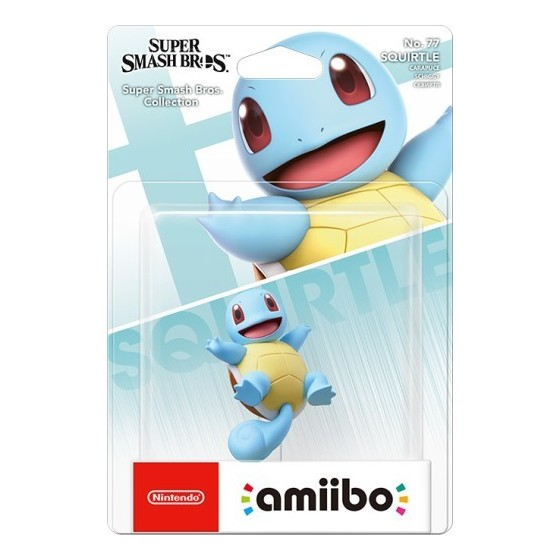 Nintendo Amiibo - Squirtle - Super Smash Bros Ultimate