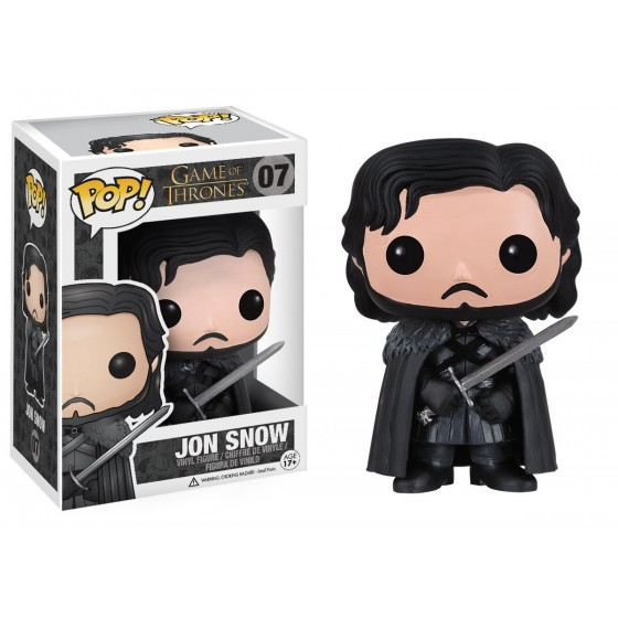 Funko Pop! - Jon Snow (07) - Game of Thrones