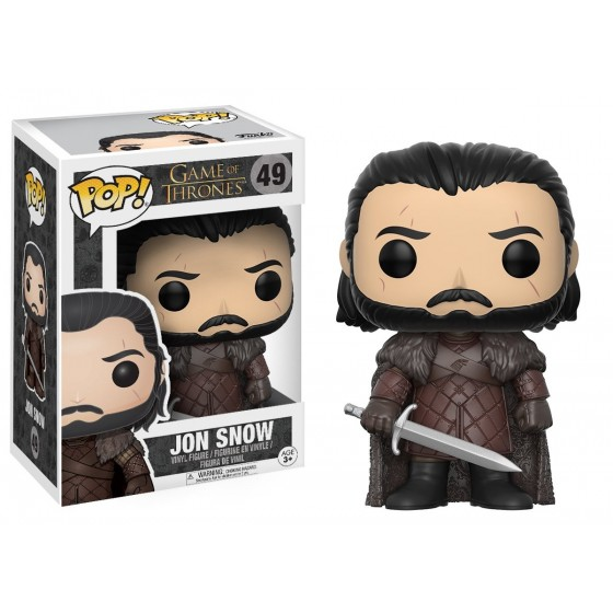 Funko Pop! - Jon Snow (49) - Game of Thrones