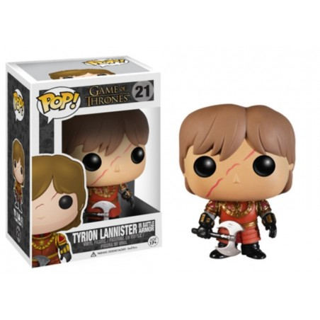 Funko Pop! - Tyrion Lannister In Battle Armor (21) - Game of Thrones