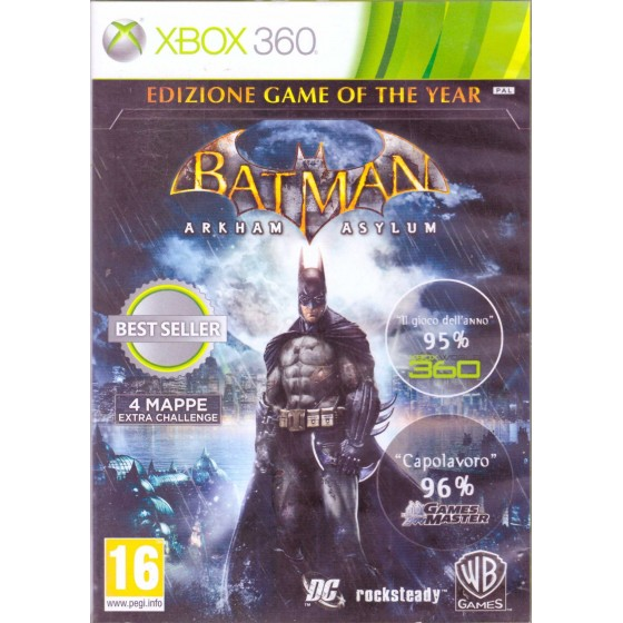 Batman Arkham Asylum - GOTY - Xbox 360