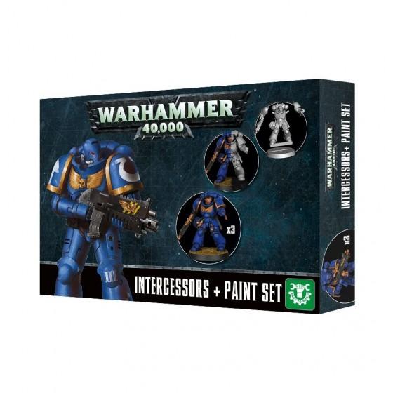 Warhammer 40.000 - Intercessors + Paint Set