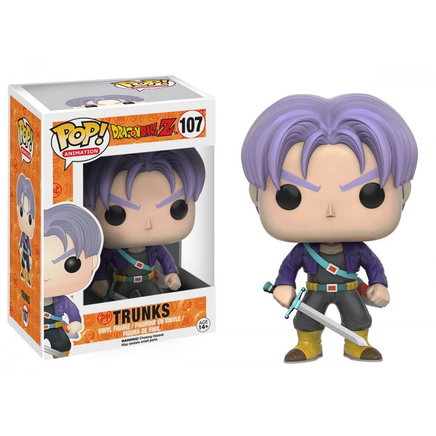 Funko Pop! - Trunks (107) - Dragon Ball Z