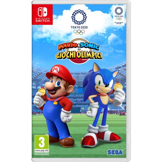 Mario & Sonic ai Giochi Olimpici - Tokyo 2020 - Preorder Switch - The Gamebusters