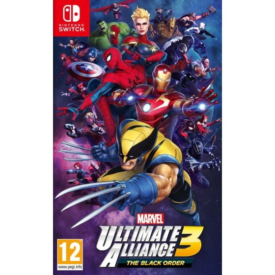 Marvel Ultimate Alliance 3 The Black Order - Switch - The Gamebusters