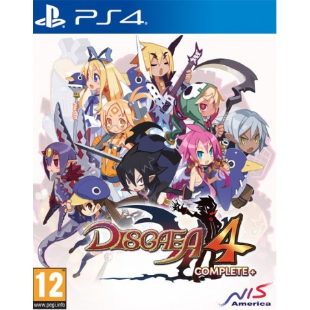 Disgaea 4 Complete+ - Preorder PS4 - The Gamebusters