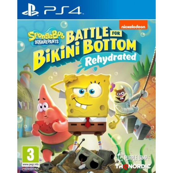 SpongeBob SquarePants: Battle for Bikini Bottom - Rehydrated  - PS4 - The Gamebusters