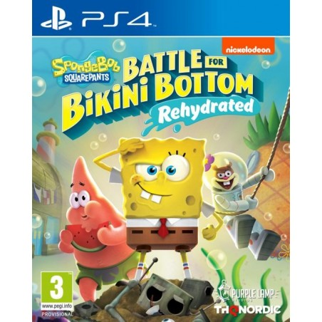 SpongeBob SquarePants: Battle for Bikini Bottom - Rehydrated - Preorder PS4 - The Gamebusters