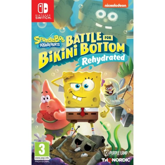 SpongeBob SquarePants: Battle for Bikini Bottom - Rehydrated - Preorder Switch- The Gamebusters
