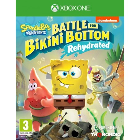 SpongeBob SquarePants: Battle for Bikini Bottom - Rehydrated - Preorder Xbox One- The Gamebusters