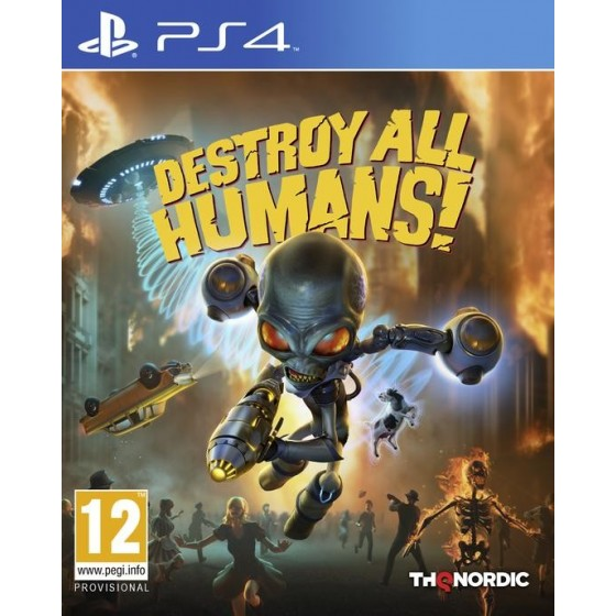 Destroy All Humans!  - PS4  - The Gamebusters