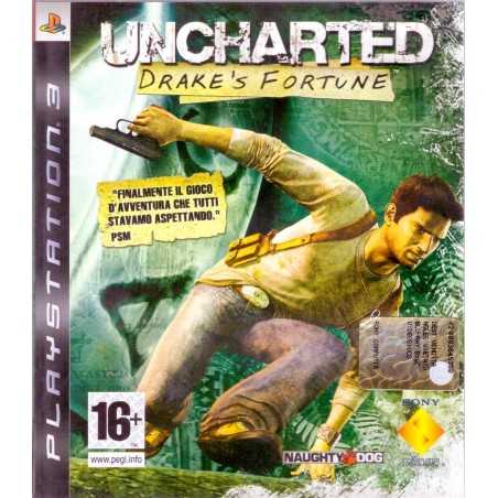 Uncharted: Drake's Fortune - PS3 usato
