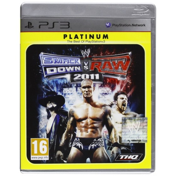 WWE SmackDown vs Raw 2011 - Platinum - PS3