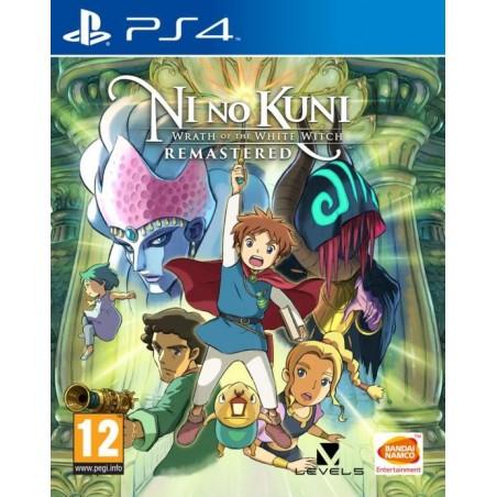 Ni No Kuni: La minaccia della Strega Cinerea Remastered Preorder PS4 - The Gamebusters