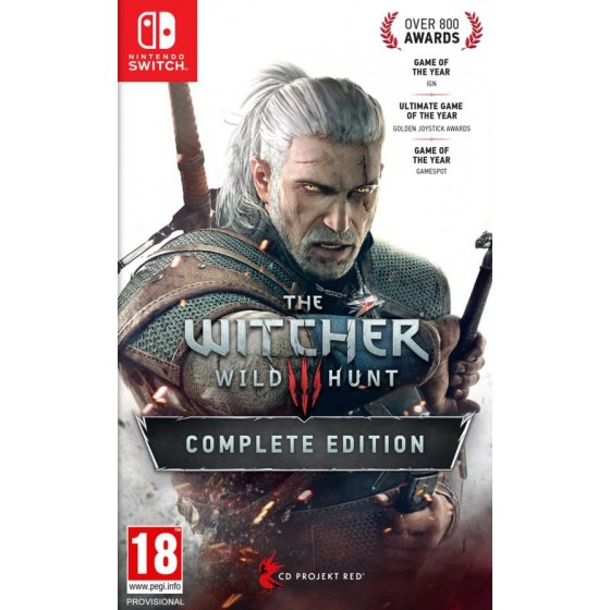 The Witcher 3: Wild Hunt - Complete Edition - Preorder Switch - The Gamebusters
