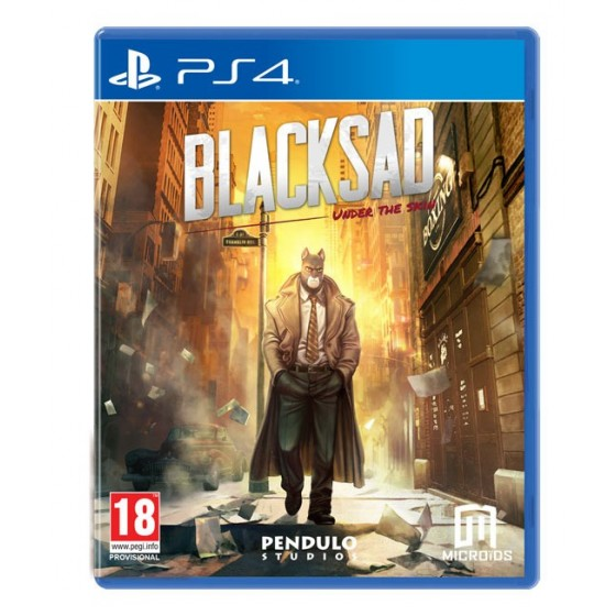 Blacksad: Under The Skin - Preorder PS4 - The Gamebusters