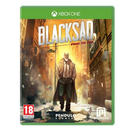 Blacksad: Under The Skin   -  Xbox One - The Gamebusters