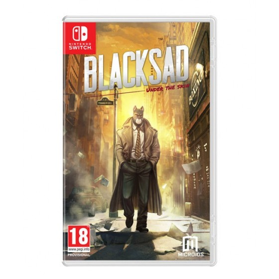Blacksad: Under The Skin - Preorder Switch - The Gamebusters