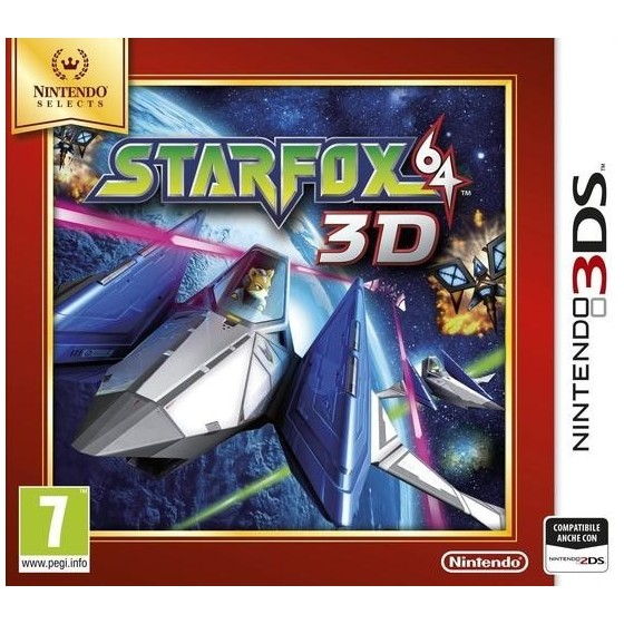 Star Fox 64 3D - Selects - 3DS