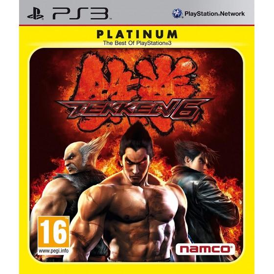 Tekken 6 - Platinum - PS3