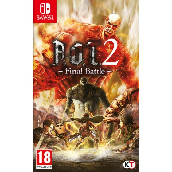 A.O.T. 2 – Final Battle - Switch - The Gamebusters