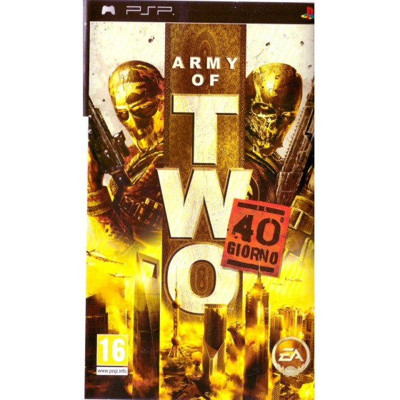 Army of Two 40° Giorno - PSP