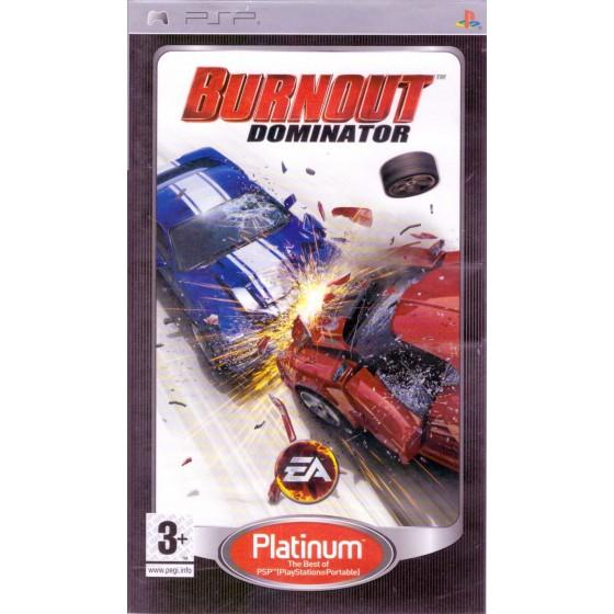 Burnout Dominator - Platinum - PSP