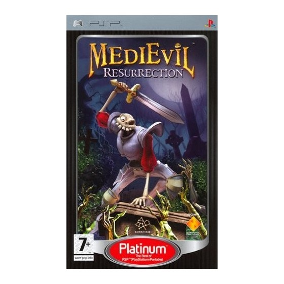 MediEvil Resurrection - Platinum - PSP