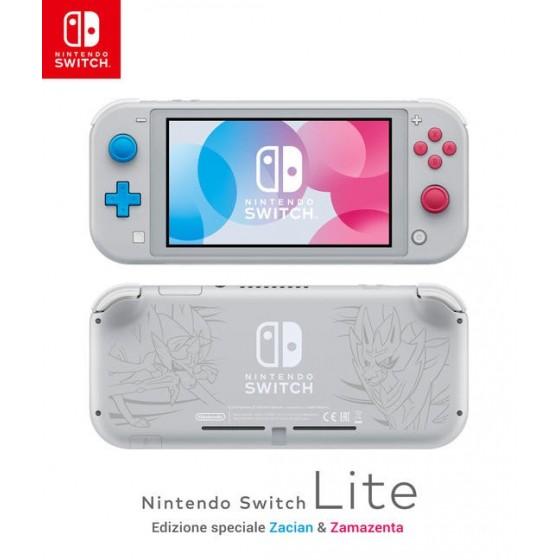 Nintendo Switch Lite - Zacian & Zamazenta Edition - Preorder Switch - The Gamebusters
