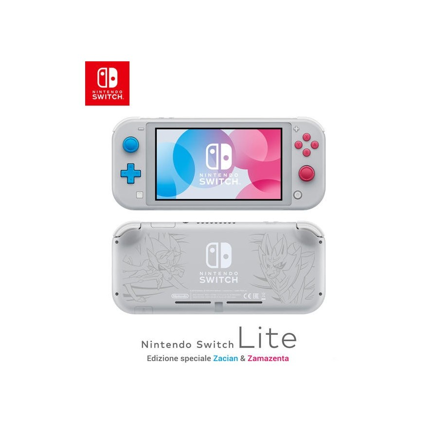 Nintendo Switch Lite - Zacian & Zamazenta Edition - Preorder Switch - The Gamebusters
