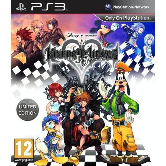 Kingdom Hearts HD 1.5 ReMIX - Limted Edition - PS3 usato