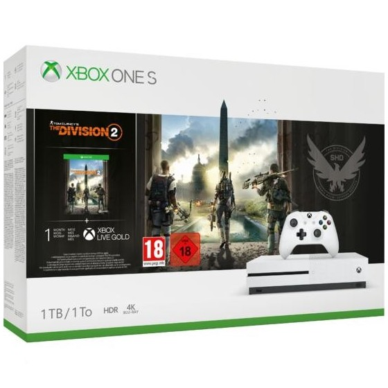 Xbox One S 1TB + The Division 2