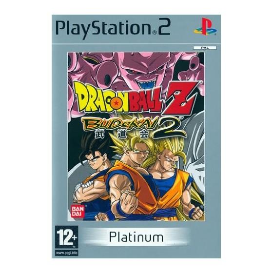 Dragon Ball Z Budokai 2 - Platinum - PS2