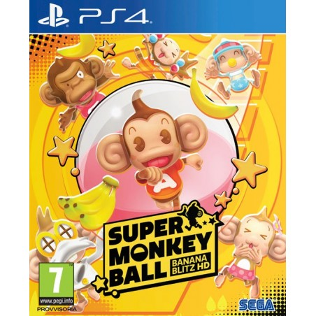 Super Monkey Ball: Banana Blitz HD- Preorder PS4 - The Gamebusters