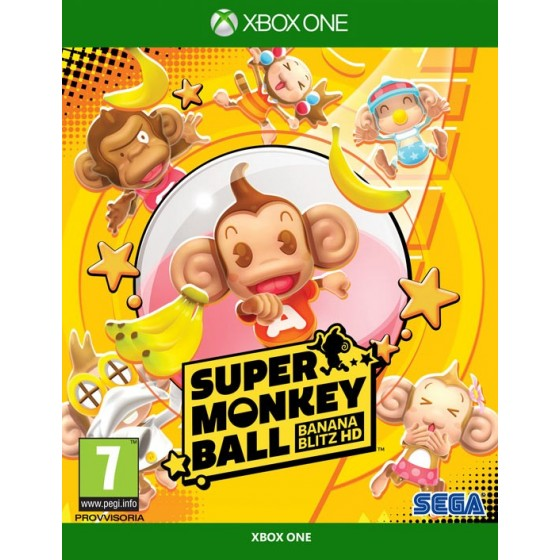 Super Monkey Ball: Banana Blitz HD- Preorder Xbox One - The Gamebusters