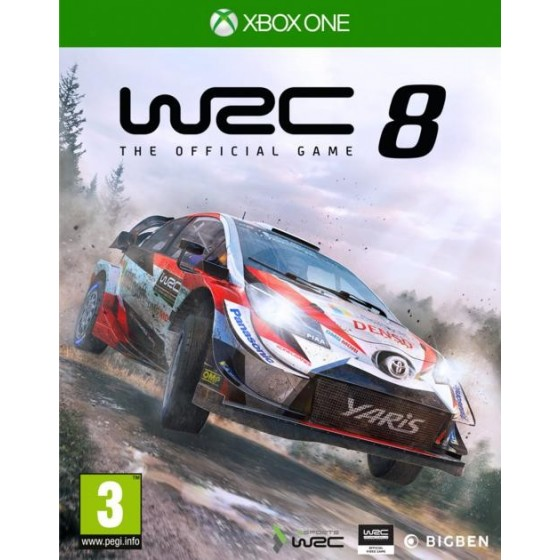 WRC: FIA World Rally Championship 8 - Preorder Xbox One