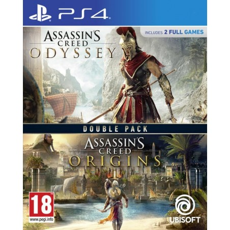 Assassin's Creed: Origins + Odyssey - PS4