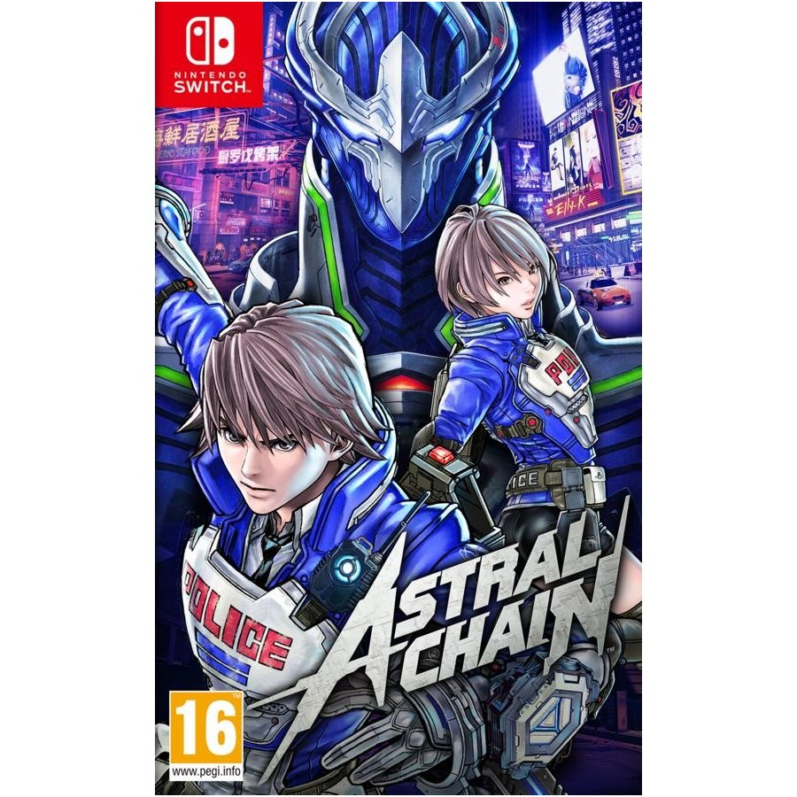 Astral Chain - Preorder Switch - The Gamebusters