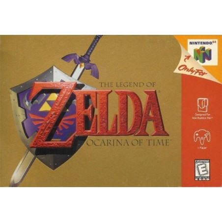 The Legend of Zelda: Ocarina of Time - Nintendo 64