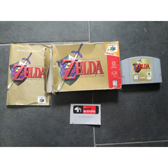 The Legend of Zelda: Ocarina of Time - Nintendo 64 usato