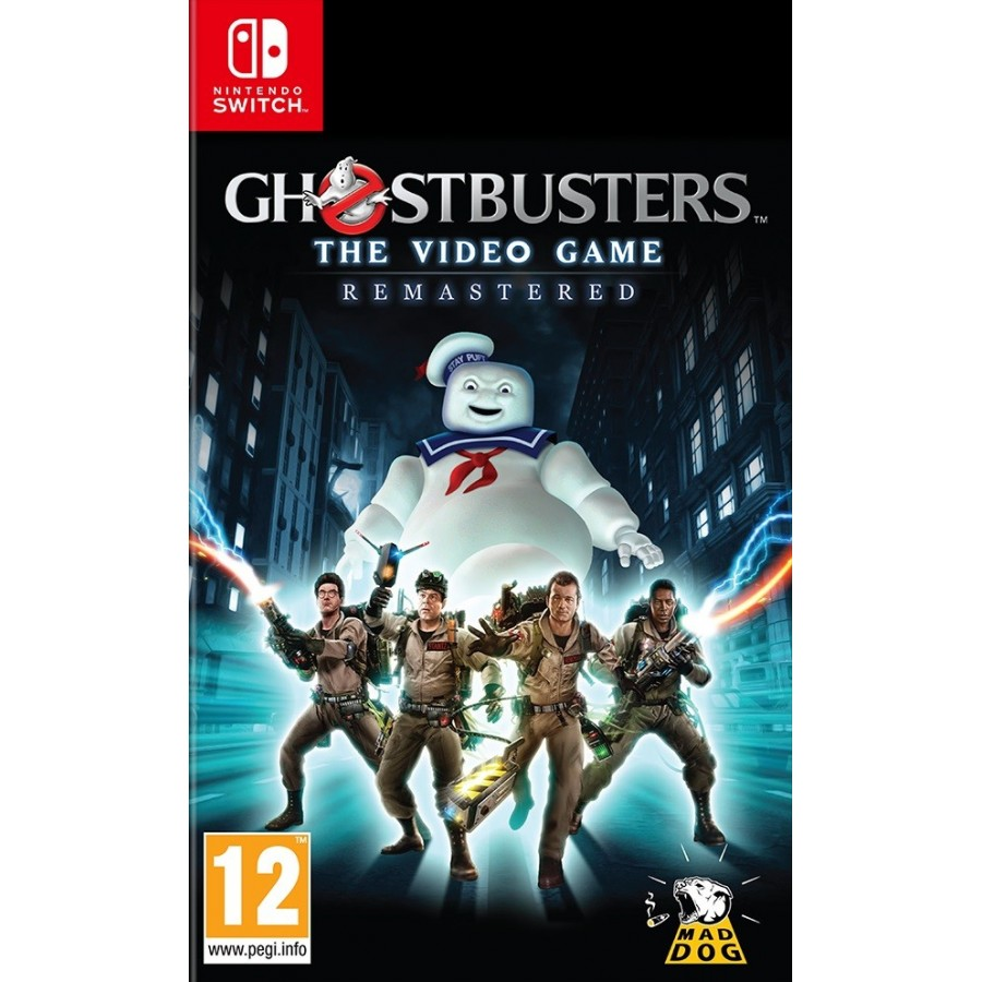 Ghostbusters: The Video Game - Preorder Switch - The Gamebusters