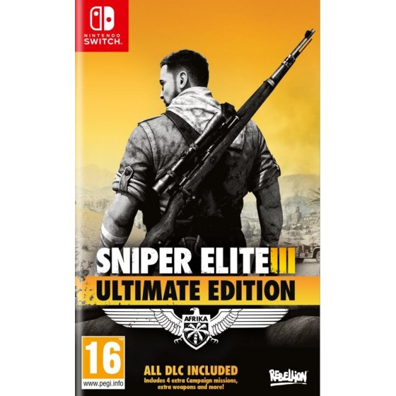 Sniper Elite 3 Ultimate Edition  - Preorder Switch - The Gamebusters