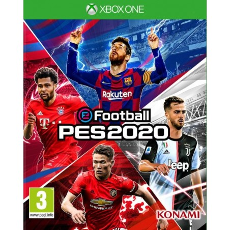 eFootball: Pes 2020 - Preorder Xbox One - The Gamebusters