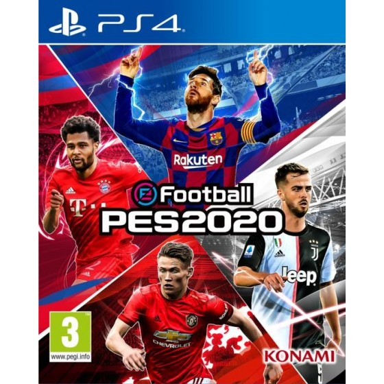 eFootball: Pes 2020 - Preorder PS4 - The Gamebusters