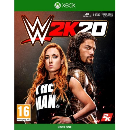 WWE 2K20 - Preorder Xbox One - The Gamebusters