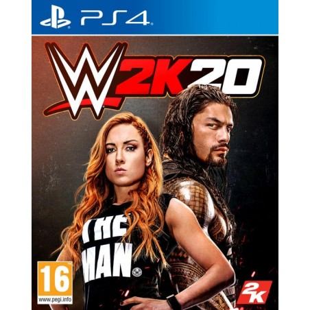 WWE 2K20 - Preorder PS4 - The Gamebusters
