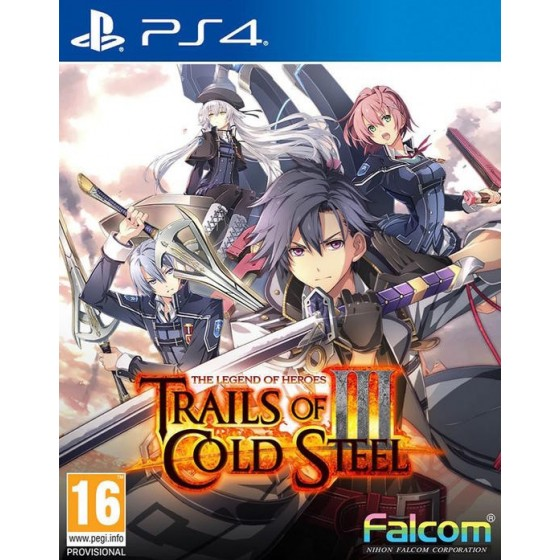 The Legends of Heroes: Trails of Cold Steel III - Preorder PS4 - The Gamebusters