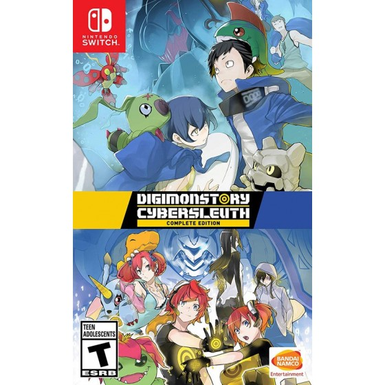 Digimon Story: Cyber Sleuth - Nintendo Switch - The Gamebusters