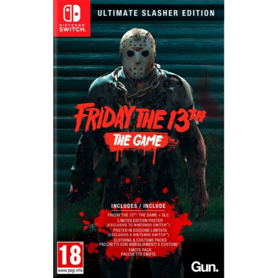Friday the 13th: Ultimate Slasher Edition - Preorder Switch - The Gamebusters